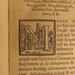 1566 Caspar Peucer Holy Roman Empire Charles V Reformation RARE German Binding