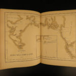 1879 1ed Arctic Expedition Hall Nourse Franklin Voyage Eskimo Illustrated MAP