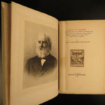 1886 Henry Wadsworth Longfellow Works Song of Hiawatha Dante Divine Comedy 11v