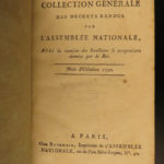 1789 French National Assembly Politics l'Assemblée Nationale 19v Revolution