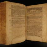 1611 EUSEBIUS Early Church History + Socrates Ruffinus Sozomen Basel Swiss FOLIO