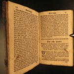 1770 1ed Germantown Pennsylvania SAUR Lucius Paradisische Aloe German Gunwad