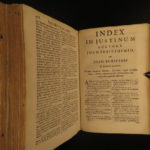 1694 Philippic Histories Justin Ancient ROME Macedonia Empire Trogus Latin