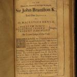 1685 Samuel Daniel History England Edward Richard Henry William Conqueror FOLIO