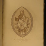 1796 1ed Medieval Dress & Habits of England Costumes Illustrated Knights Strutt