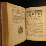 1697 Holy Virgin Mary Catholic Church Offices Missal Breviary Prayers & Hymns