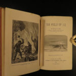 1875 Jules Verne Voyages North Pole Adventure of Capt Hatteras Field of Ice RARE