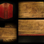 1822 FORE-EDGE PAINTING Book of Common Prayer Church of England Oxford BEAUTIFUL