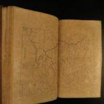 1847 Annals of the West American Revolution INDIANS Frontier Warfare War MAPS