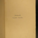 1892 Indian Fairy Tales Folklore Jataka Children's Literature INDIA Jacobs