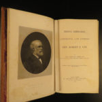 1875 1ed Robert E Lee Civil WAR Reminiscences Letters Illustrated Portraits CSA
