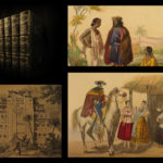 1843 Lucry Voyages Atlas CHINA South America Jungles Color Engravings CORTEZ