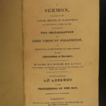 1819 Masonic Effusions Freemasonry Morality Poems Garland + 1823 Naylor Sermon