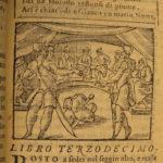 1572 Metamorphoses of OVID Roman Greek Mythology Anguillara Orologi Woodcuts