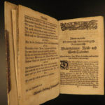 1738 RARE Home Economics for German Women Housekeeping Cooking Astronomy