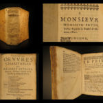 1645 Guybert Health SECRETS Medicine for Poor WINE Cures Plague Homeopathy