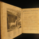 1792 Sportsman's Dictionary Hunting Trapping Illustrated Fishing Tackle Strategy