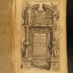 1681 EARLY Oxford Holy Bible Old/New Testament KJV Charles II England Pitt & Guy