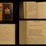 1851 Narratives of Shipwrecks of the Royal Navy Gilly Britain PIRATE Illustrated