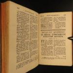 1749 Greek New Testament Bible Birr Maestricht Basel + Senebier Provenance