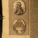 1691 1st ed Life of Oliver CROMWELL English Civil War COINS Numismatics Raguenet