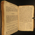 1682 Bible Catechism Whole Duty of Man Richard Allestree Anglican England RARE
