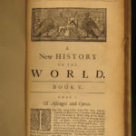 1720 1st ed IRISH Cornelius Nary New History of World Catholic Philosophy Dublin