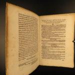 1565 PAPAL LAW Antonio Bardi Tractatus Juris Catholic Vatican ROME Pope Pius IV