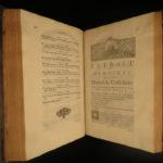 1725 1st ed Mary Stuart Queen of Scots Life & Reign SCOTLAND England Jebb FOLIOS