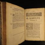 1687 1st ed SCOTLAND Witch Trials Mackenzie Scotland English Parliament LAW