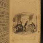1839 1ed/ 1st printing Charles Dickens Nicholas Nickleby Novel RARE Illustrated
