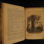 1844 1st Charles Dickens Martin Chuzzlewit English Literature Satire Illustrated