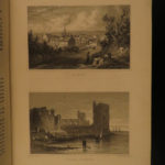 1830 WALES Illustrated by Gastineau Engravings Great Britain Castles Cathedrals