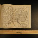 1873 1ed Osgood New England ATLAS Traveler Guide MAPS New York Quebec Geography