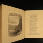1868 Mughal INDIA Lalla Rookh Thomas Moore Oriental Romance Illustrated Binding