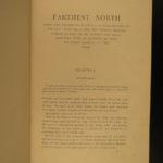1898 1ed Farthest North ARCTIC Nansen Polar Eskimo Kayak Hunting Fram Expedition