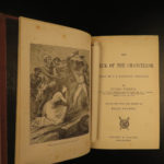 1876 US 1ed Jules Verne Wreck of the Chancellor Britain Ship Fiction Illustrated