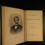 1888 Abraham Lincoln Reminiscences Slavery Civil War US Grant Gettysburg A. Rice