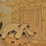 1933 1ed Three Little Pigs Walt DISNEY Color Illustrated Big Bad Wolf Children