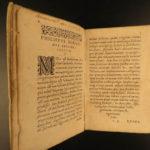 1586 Illustrium Poetarum Mirandula Latin Poems Virgil Ovid Horace Genvea Tournes