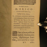 1644 1ed Noble Letters Popes Doge Genoa Naples Caesar Cicero Elzevier Latin