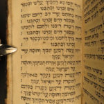 1797 RARE & Important Judaica Livorno Italy Jewish Sefer Mikdash Hebrew Prayer