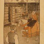 1902 Santa Claus Life & Adventures L Frank Baum Color Illustrated Christmas