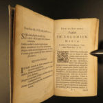 1641 In Praise of Folly Erasmus of Rotterdam Protestant Latin Encomium Moriae