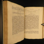 1698 1ed Old English Holy BIBLE Heptateuch Anglo-Saxon Old Testament Thwaites