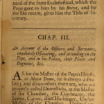 1686 1ed Monastical Conventions MONKS Military Orders Knights Rites Popes