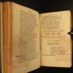 1517 1st Aldine SENECA Tragedies Stoic Philosophy Stoicism Latin Post Incunable