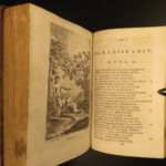 1778 Paradise Lost John Milton English Poetry Illustrated Allegory Adam & Eve
