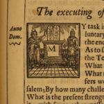 1647 History of Holy War CRUSADES Jerusalem anti ISLAM MAP Ottoman Thomas Fuller