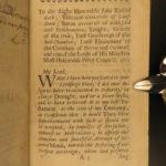 1680 1ed Mystery of English Restoration Charles II Scottish Patrick Hume Argyll